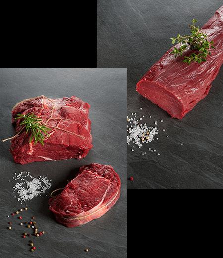 Bestes Bisonfleisch von der Bison Ranch aus Langschlag, Österreich