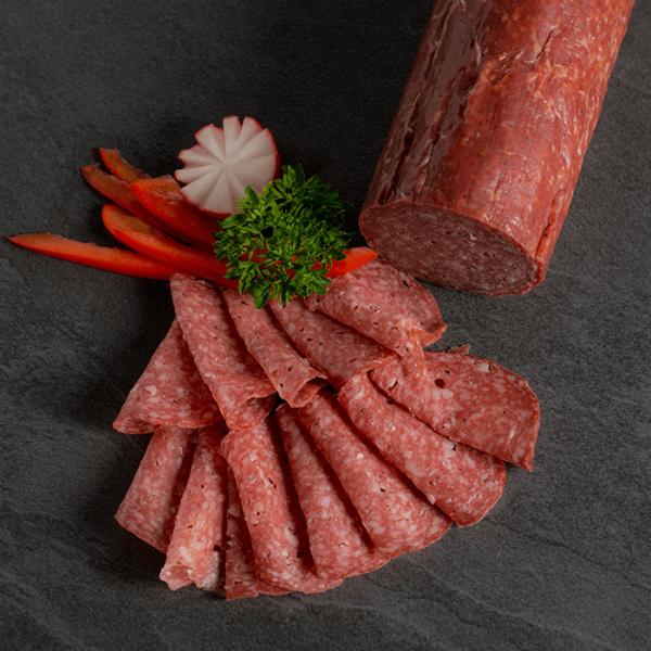Feine Salami vom Bison