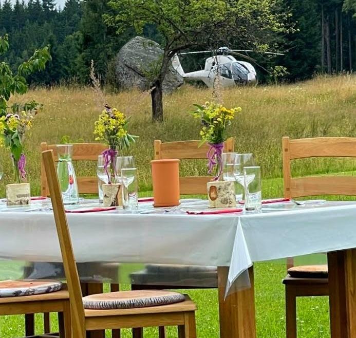 Hubschrauber#Bison#Steak#Gemütlich